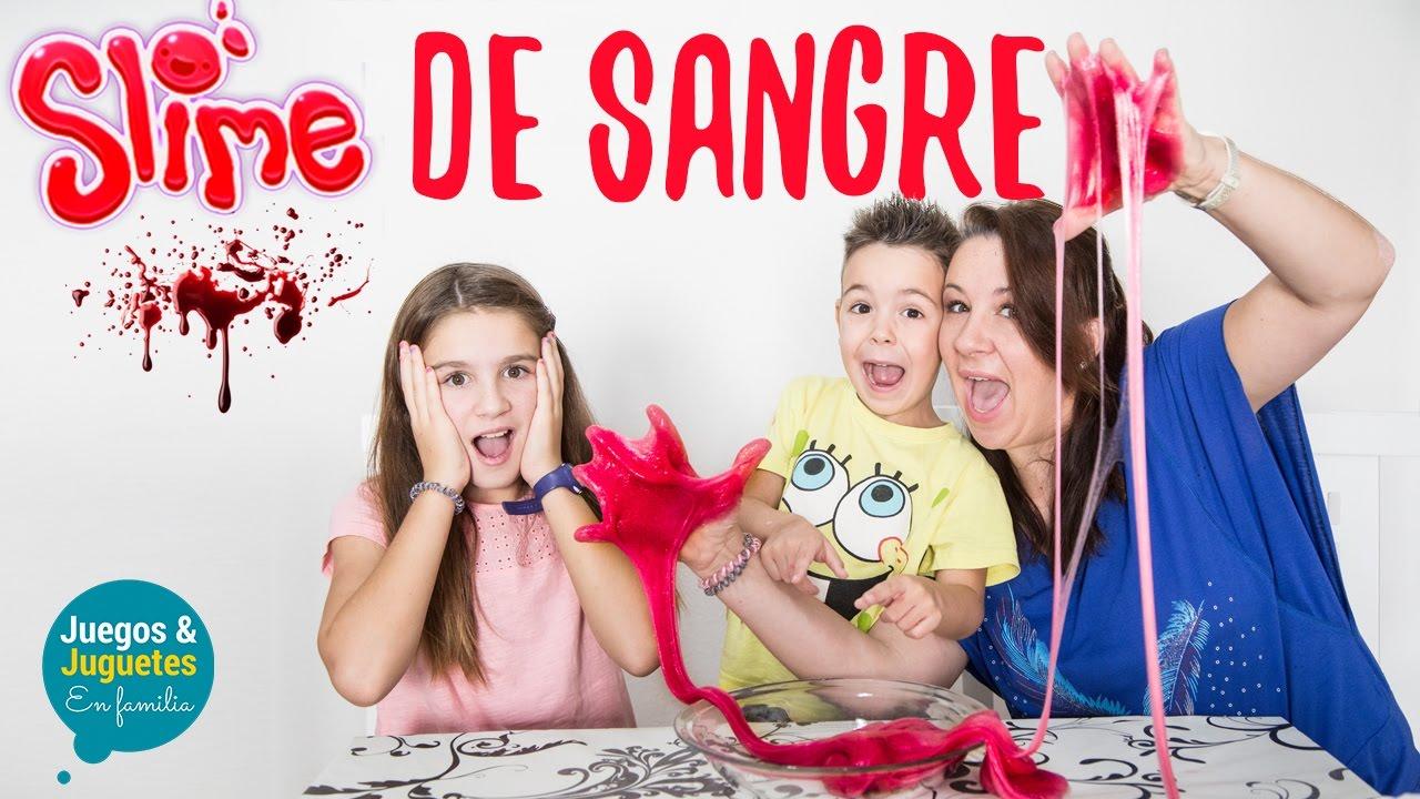 Ideas Faciles Para Halloween Slime Sin Borax De Sangre Juegos