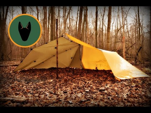 How to Set up a Group Tarp Shelter