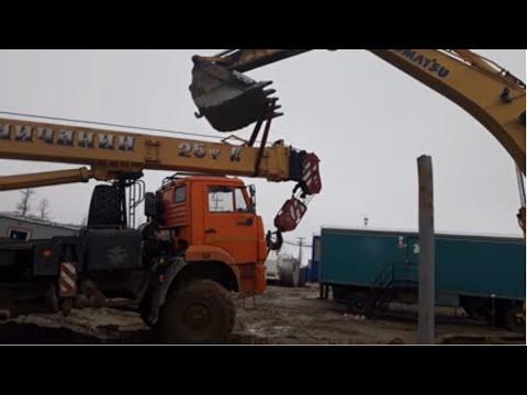 Весна на Ямале, бездорожье,  автокраны,  Truck Cranes, Off-road, Extreme North