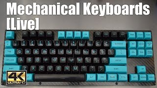 Livestream - Mechanical keyboard kit assembly with 1upkeyboards TKL Carbon Fiber