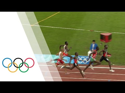 Wilfred Bungei wins Men's 800m Olympic final | Beijing 2008