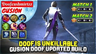 Doof Is Unkillable, Gusion Doof Updated Build [ Doofenshmirtzz Gusion ] Mobile Legends
