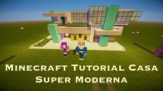 Minecraft: Tutorial Casa Super Moderna