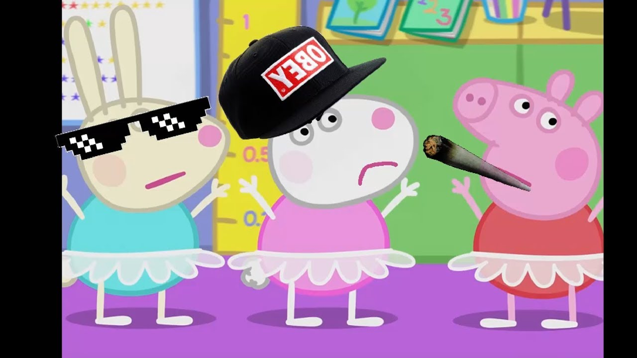 #2 свинка пеппа RYTP/Папа Свин любит какашки