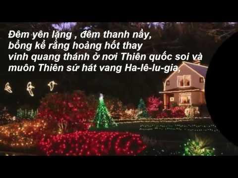 Đêm Yên Lặng- nhạc  mừng Chúa Giáng Sinh- Karaoke