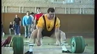 1992 Powerlifting Cup Russia Dead lift