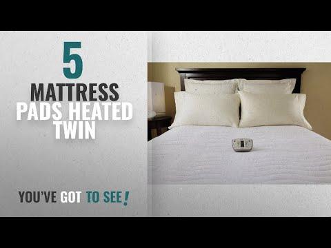 Top 10 Mattress Pads Heated Twin [2018]: Sunbeam Therapeutic Heated Mattress Pad, Premium Soft 3