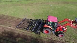 Wingfield 3pt Renovator - For pasture renovation, nitrogen application, and vertical tillage