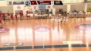 ΠΑΟΚ - ΟΛΥΜΠΙΑΚΟΣ 44o Πανελλήνιο Πρωτάθλημα Εφήβων