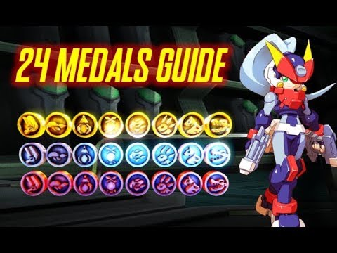 Megaman ZX Advent - All Medals Guide (Ashe)