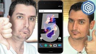 5 cosas que me han gustado y 5 que NO del OnePlus 5