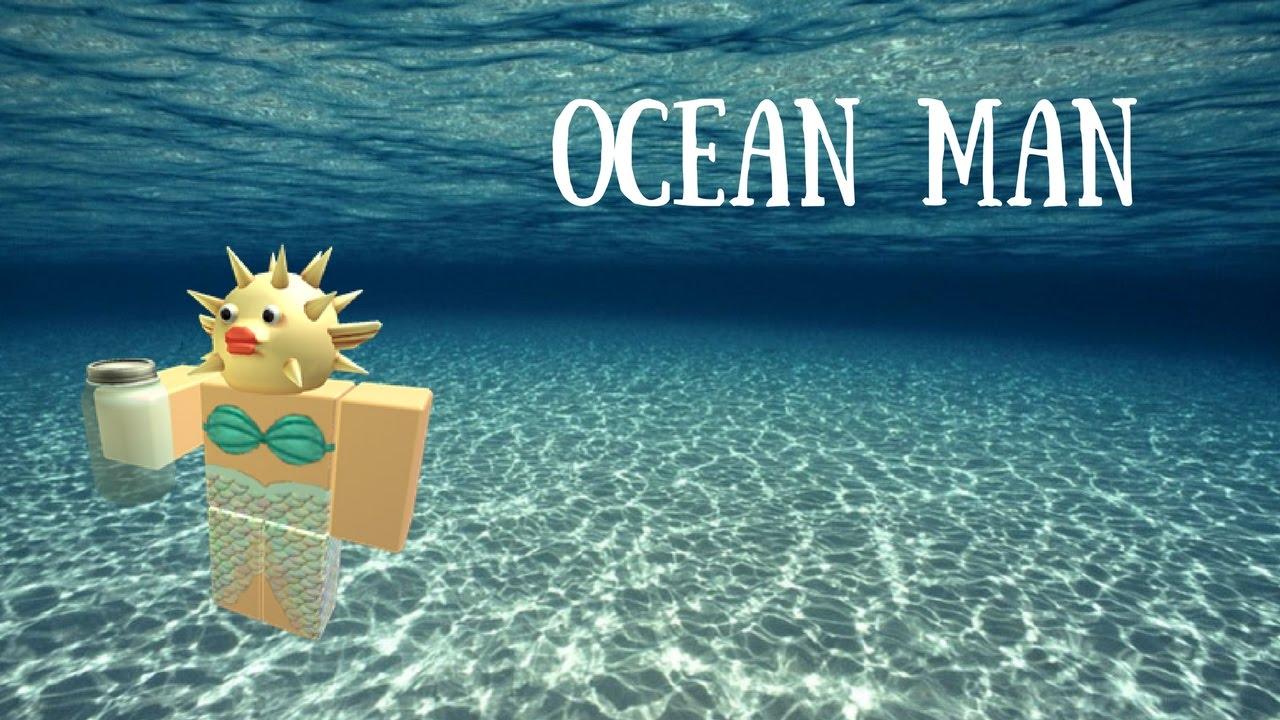 Roblox Ocean Man Youtube