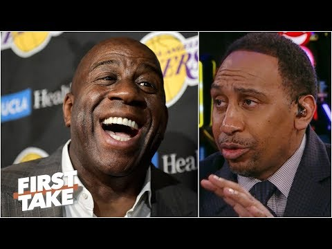 the-lakers-would-be-better-off-with-magic-johnson-–-stephen-a.-|-first-take