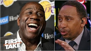 The Lakers would be better off with  Magic Johnson - Stephen A. | First Take