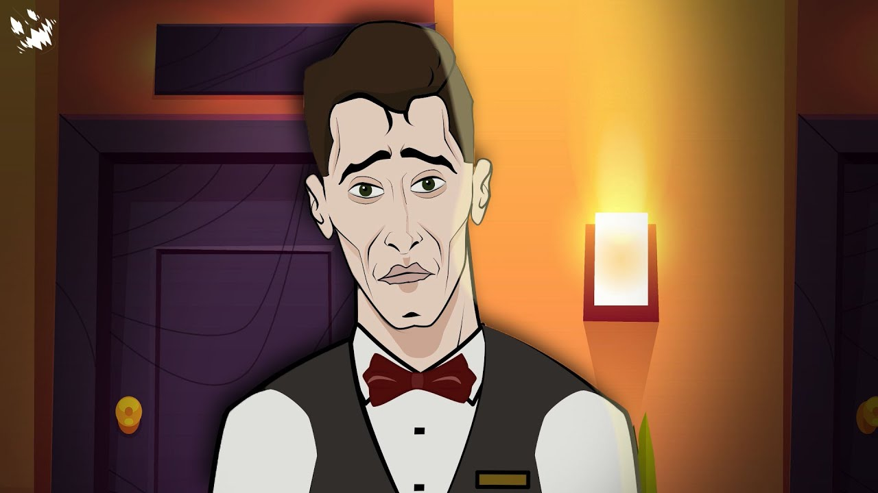 Creepy Janitor Horror Story Animated