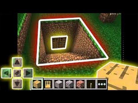 Секретный Подземный МИР - Крутой Механизм в Minecraft PE 0.15.0 / 0.15.1 +