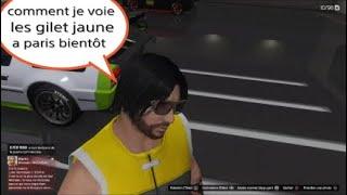 GTA 5: gilet jaune vs police  version gta 5
