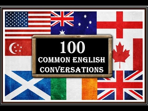 100 Common English Conversations - Spoken English for Daily Use - English Speaking Practice