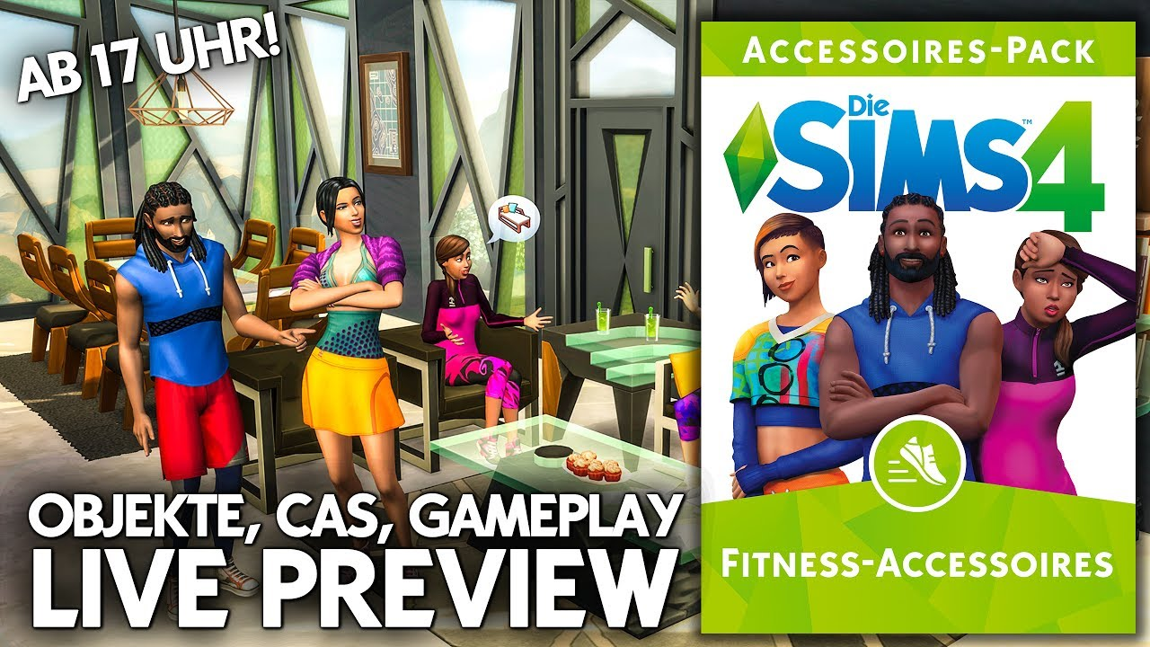 Sims 4 Kinderzimmer Accessoires Die Sims 4 Fitness Accessoires Review