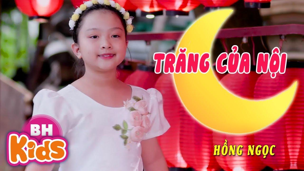Trăng Của Nội ♫ Giọng ca nhí Hồng Ngọc ♫ Nhạc Thiếu Nhi Vui Nhộn [MV]