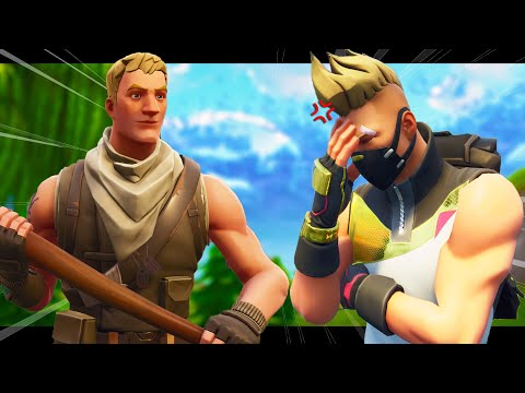 STUCK WITH A NOOB FOR 24 HOURS! 🤬 - A FORTNITE SHORT FILM