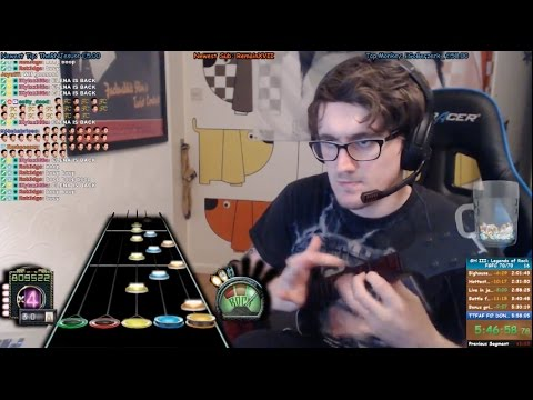 GUITAR HERO 3 FGFC SPEEDRUN PB! 5:48:28!!!