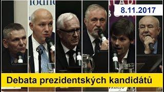 """Debata prezidentských kandidátů """"Škoda, že tu není Zeman, přinesla"""