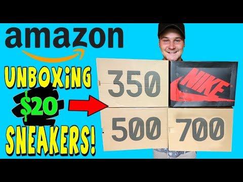 WHAT $20 LEGIT HYPEBEAST SNEAKERS FROM AMAZON LOOK LIKE!