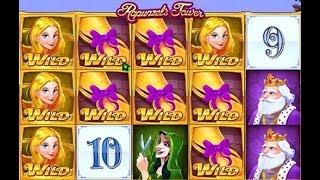 Machine à sous Rapunzel's Tower - un jeu avec des tas de Jokers.