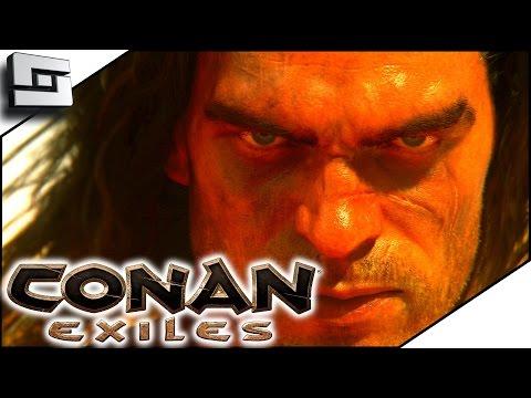 CONAN EXILES LIVE GAMEPLAY! Conan Exiles Game First Look