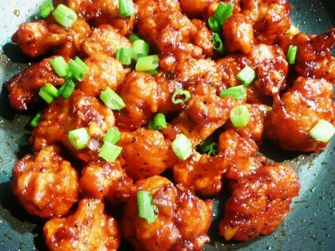 Vegetarian Food Recipes Indian Gopi Manchurian