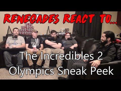 Renegades React to... The Incredibles 2 - Olympics Sneak Peek