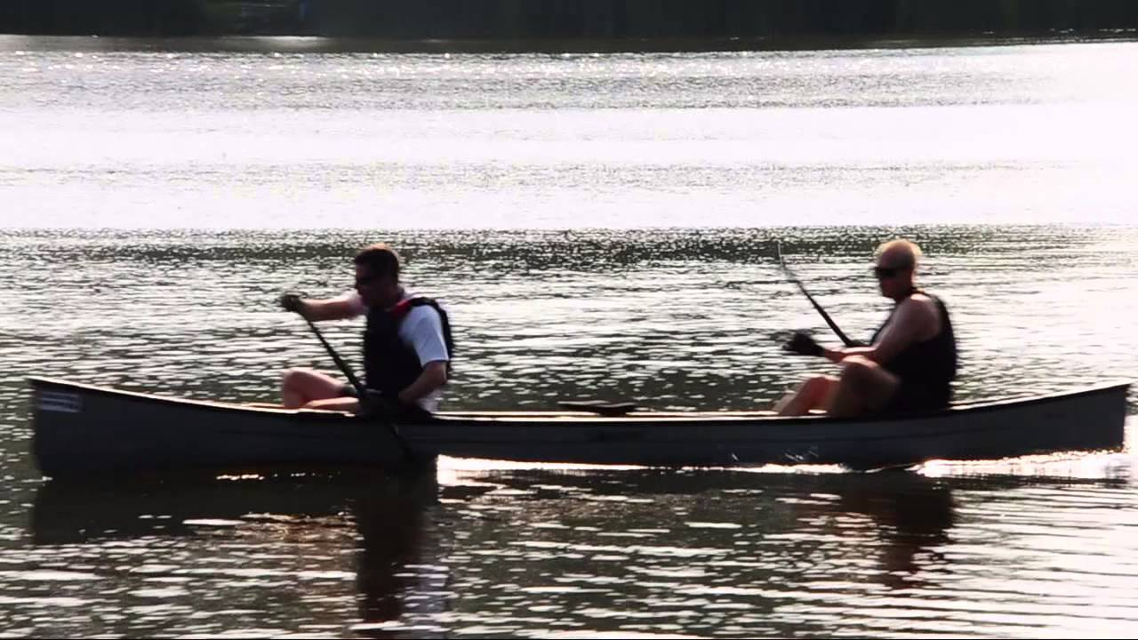Canoe Racing Paddling Technique Demonstration