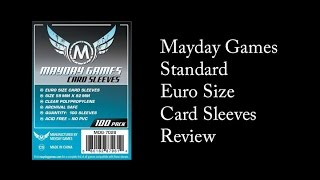 Mayday Games - Standard Euro Sized Card Sleeves