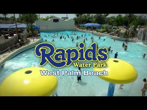 Water Slides At Rapids Water Park Part 1- Vlog -Rapids Water Park - Water Park Video For Kids