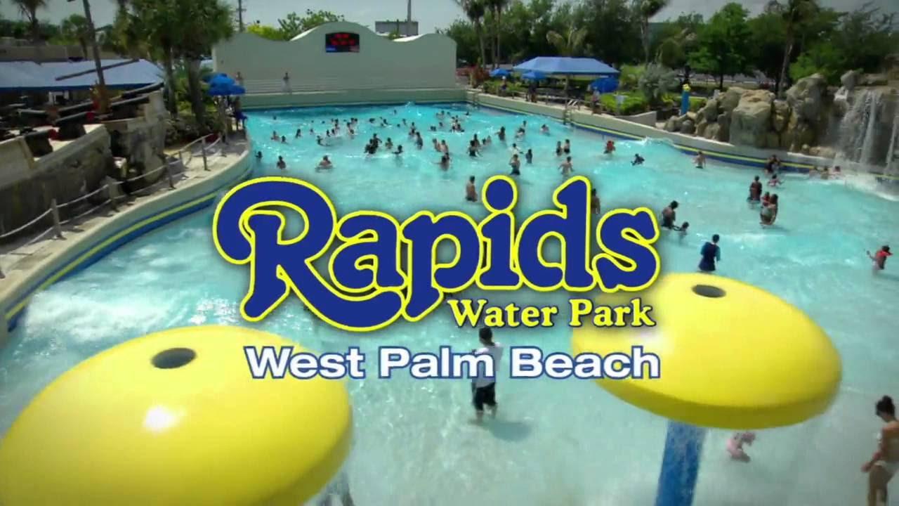 Water Slides At Rapids Park Part 1 Vlog Video For Kids