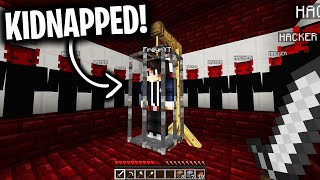 DARK WEB HACKERS KIDNAPPED MY FRIEND in Minecraft... (Scary Minecraft Video)