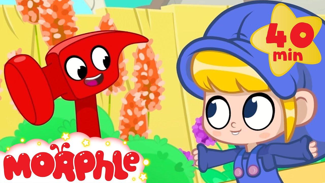 Morphle The Builder - My Magic Pet Morphle | Cartoons For Kids | Morphle TV | Morphle Compilation