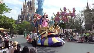 東京迪士尼樂園巡遊 Tokyo Disneyland Jubilation! Parade (16 May 2012)