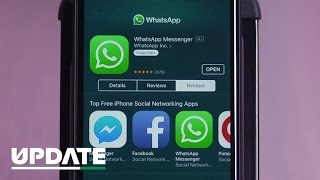 WhatsApp to share data with Facebook (CNET Update)