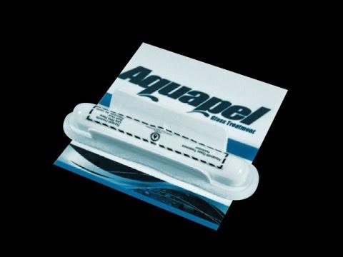 Антидождь Aquapel для стекол автомобиля - YouTube
