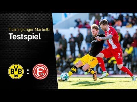 Higlights des Testspiels im Trainingslager | BVB gegen Fortuna Düsseldorf 2:0