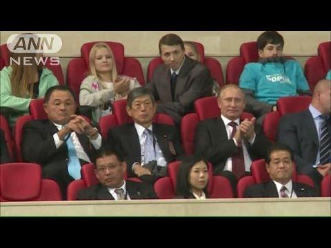 日ロ首脳会談前にプーチン大統領 日本重視アピール(14/11/09)