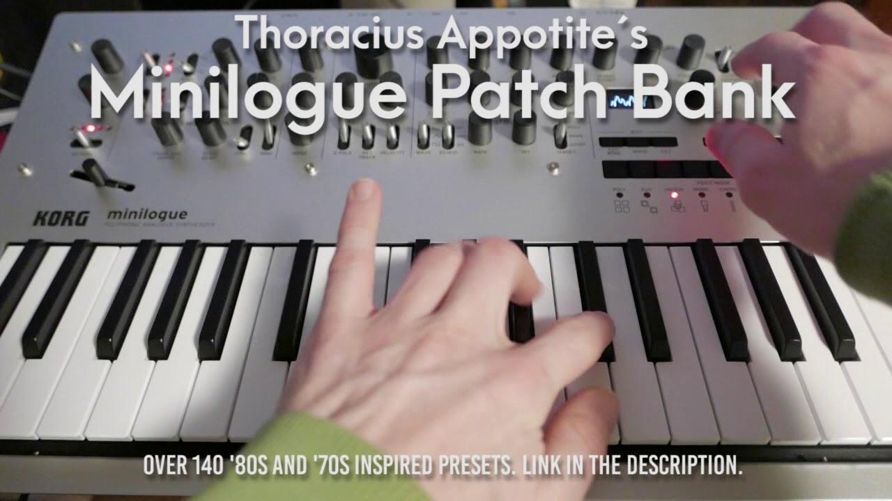 Retro Minilogue Patch Bank | Thoracius Appotite
