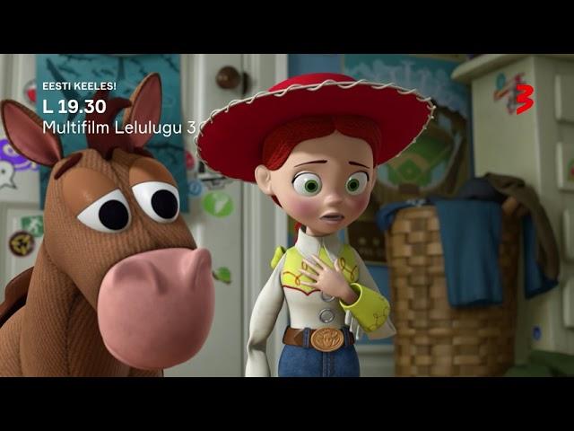 """Animafilm """"Lelulugu 3"""" L 19.30 TV3s! EESTI KEELES!"""