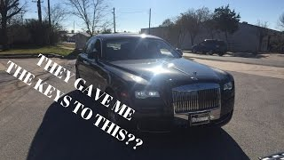 2016 Rolls Royce Ghost quick ride