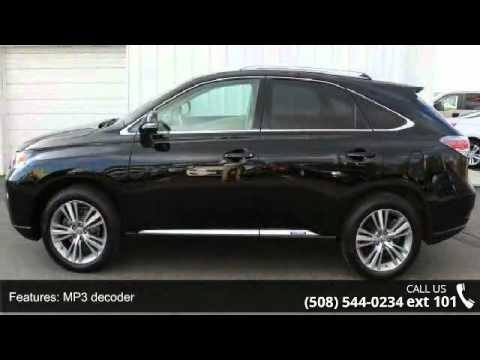 2015 Lexus Rx 450h Autobahn Usa Westborough Ma 01581 Youtube