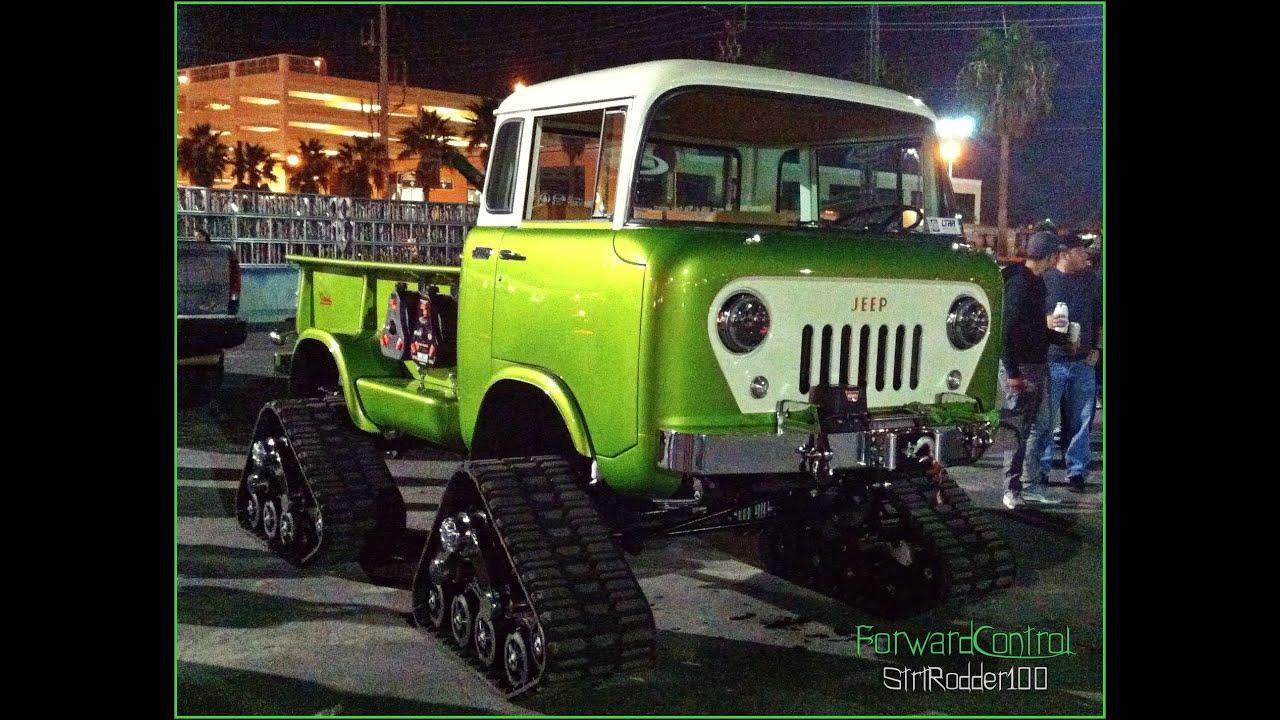 "SEMA 2014 1958 Jeep Forward Control on Trax ""SEMA 2014"""