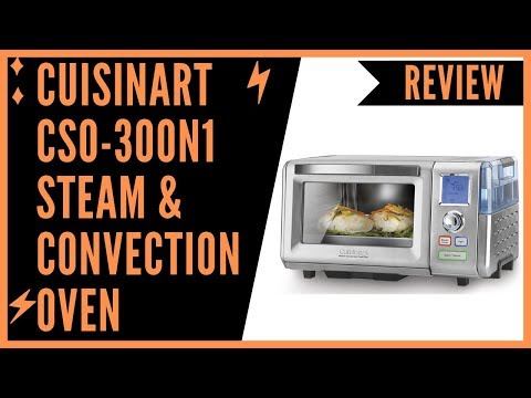 Cuisinart CSO-300N1 Steam & Convection Oven Stainless Steel - Review