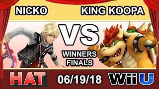 HAT 26 - TCM | King Koopa (Bowser) Vs. FAD | Nicko (Shulk) Winners Finals - Smash 4